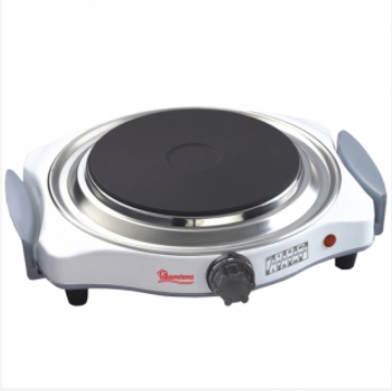 Silver, Single Solid, Plate Cooker- RM/251